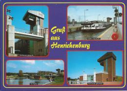SCHLEUSE (ECLUSE) Heinrichenburg-Waltrop - Péniches