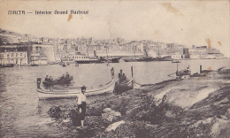 MALTA / INTERIOR GRAND HARBOUR - Malte