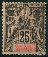 Guadeloupe (1892) N 34 (o) - Oblitérés