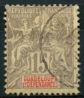 Guadeloupe (1900) N 42 (o) - Oblitérés
