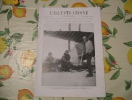 ILLUSTRAZIONE ITALIANA N.32 1928 GIGANTESCO BLOCCO DI MARMO A CARRARA CAPRI SPEDIZIONE POLARE - Livres, BD, Revues