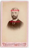 CDV Identifié En 1882-Monsieur MALLET-insigne à Voir Sur Col-photo Vandenabiel-TB état - Old (before 1900)