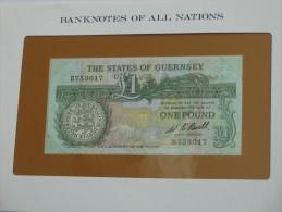 1 One Pound  - GUERNSEY -  - Billet Neuf - UNC -  !!!  **** EN  ACHAT IMMEDIAT  **** - Guernsey