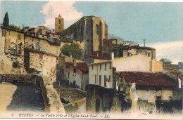 L75_2016 - Hyères - 2 La Vieille Ville Et L'Eglise Saint-Paul - LL - Hyeres