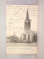 Aalst. Lede-lez-Alost. Eglise Et Maison Communale. Kerk En Gemeentehuis - Aalst