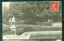 Parc De Saint Cloud Artistique - Nouvelle Statue Au Bassin Des Chiens   - Abq170 - Saint Cloud