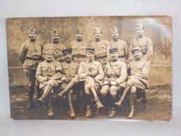 Carte Photo. Militaires. Foto Darves-Blanc. Rue Beaubrun, Ste Etienne. - War, Military