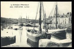 Cpa Du  29  Pont Aven  Le Port   No  2842     THO3 - Pont Aven