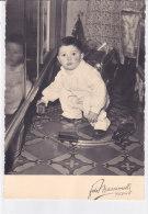 CARD GIOCATTOLI PHOTO AUTO TRENINO  BIMBO   -FG--2-0882-18529 - Jeux Et Jouets