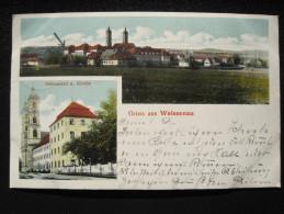 Old Postcard - Ravensburg, Weissenau Kloster, 1917 (WWI) - Ravensburg