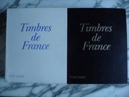 2 albums de timbres neufs** / * et oblit�r�s