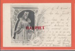 Théâtre Royal De La Monnaie  1900-1901  -   Madame  GOTTRAND - Theater