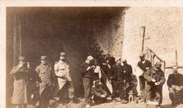 """Carte Photo , Militaires .."""" Souvenir Du 322 Territorial , Bernay 1914... - Guerre 1914-18"""