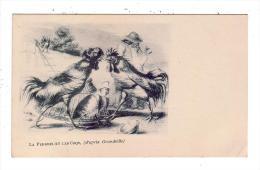 La Perdrix Et Les Coqs/D´après Grandville/Réf:5398 - Animals
