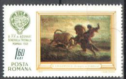 Romania 1968 Art Painting Gemalde Mi 2676 - MNH (**) - 1948-.... Republics