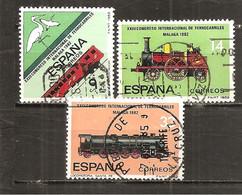 España/Spain-(usado) - Edifil  2670-72 - Yvert  2292-94 (o) - 1931-Hoy: 2ª República - ... Juan Carlos I