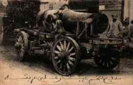 Artillerie Militaire Canon - 19, Obusier De 270 Sur Son Camion - Matériel