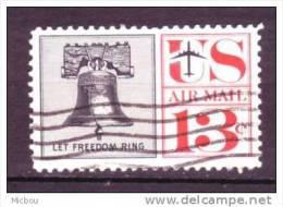 USA, Avion, Plane, Monument, Cloche De La Liberté, Liberty Bell, Poste Aérienne, Airmail - Avions