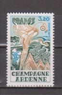 "FRANCE / 1977 / Y&T N° 1920 ** : ""Régions"" (Champagne-Ardenne) - Gomme D'origine Intacte - France"