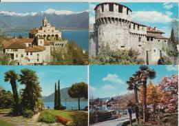 16 POSTCARDS: LOCARNO (Ticino) -  Suisse/Schweiz/Switzerland/CH - See 5 Scans - Postkaarten