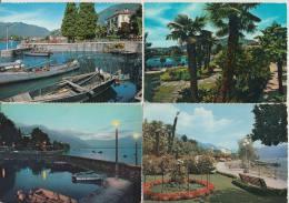 12 POSTCARDS: LOCARNO (Ticino) -  Suisse/Schweiz/Switzerland / CH - See 4 Scans - Postkaarten