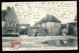 Cpa Du  60  Saint Martin Aux Bois Ferme De L' Ancienne Abbaye  .... Montiers ...  Maignelay Montigny  Clermont     THO5 - Maignelay Montigny