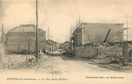 08 JUNIVILLE LA RUE SAINT HILAIRE - Francia
