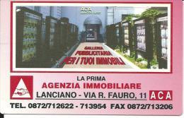 CAL549 - CALENDARIETTO 1999 - AGENZIA IMMOBILIARE - LANCIANO - Formato Piccolo : 1991-00