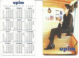 CAL558 - CALENDARIETTO 1999 - MG - UPIM - Formato Piccolo : 1991-00
