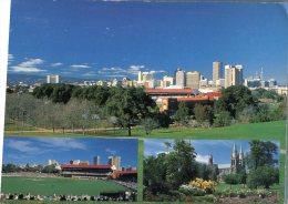 (781) Australia - SA - Adelaide And Oval Stadium + Cathedral - Adelaide