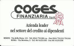 CAL565 - CALENDARIETTO 1999 - OCST - COGES FINANZIARIA - RIMINI - Formato Piccolo : 1991-00