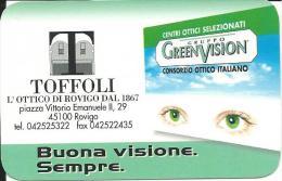 CAL570 - CALENDARIETTO 1999 - TOFFOLI - ROVIGO - Formato Piccolo : 1991-00