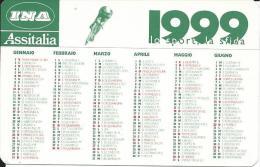 CAL572 - CALENDARIETTO 1999 - INA ASSITALIA - Formato Piccolo : 1991-00