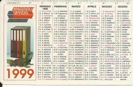 CAL576 - CALENDARIETTO 1999 - MAGGIOLI UFFICIO - Calendari
