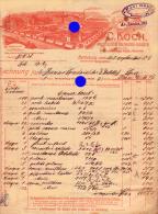 BERLEBURG KOCH WITTGENSTEINER HOLZWAREN INDUSTRIE 1906 - Allemagne
