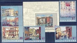 ##A1707. Romania 1972. UNESCO. Save Venezia. Paintings. Peintures. Gemälde. Michel 3053-58 + Block 99.  MNH(**) - 1948-.... Republics