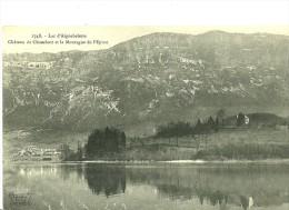 Lépin-le-lac.le Village De Lépin-le-lac Et Le Chateau De Chambost. - Frankreich