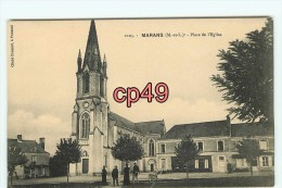 Bf - 49 - MARANS - Place De L'église - édit. Drouard - - Francia