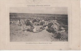 Campagne D' Orient .( Travailleurs Turcs Et Macedoniens Au Repos ) - Yougoslavie