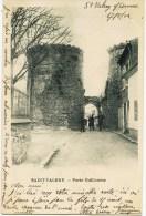 8424 - Somme - SAINT VALERY  : Porte Guillaume   (disparue ?) - Circulée En 1902     112 Ans Déjà ! - Saint Valery Sur Somme