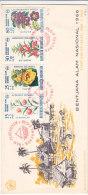 Fleurs - Indonesie - Lettre De 1966 - Indonesia