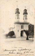 ALGERIE - L'ARBA - 3 - L'Eglise - C. Brunel édit. L'Arba - Phot. LEROUX ALGER - - Andere Steden