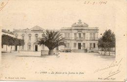 ALGERIE - L´ARBA - 7 - La Mairie Et La Justice De Paix - C. Brunel édit. L´Arba - Phot. LEROUX ALGER - - Andere Steden
