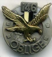 Insigne Du 146é Rgt D Infanterie___delsart - Armée De Terre