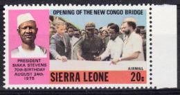 Sierra Leone Yvertnrs: 401 + 407 Postfris - Sierra Leone (1961-...)
