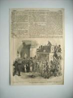 GRAVURE 1848. JOURNEES REVOLUTION DE 1848. 24 02. DUCHESSE D'ORLEANS CHAMBRE DEPUTES. M. ODILON BARROT. LAROCHEJAQUELEIN - Prints & Engravings