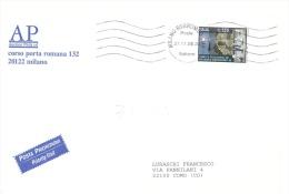 2008 € 1.50 Teatro Greco Di Tindari Isolato Su Lettera 3 Porti - 2001-10: Poststempel