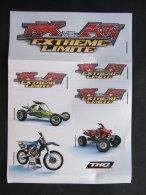 Planche D'autocollants Stickers MX Vs. ATV EXTREME LIMITE - THQ - Merchandising