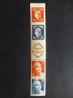 Timbres Neufs **, N° 830 à 833 - 1945-54 Marianne De Gandon