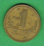 X068 Brasil 1 Cruzeiro 1945 - Brasile